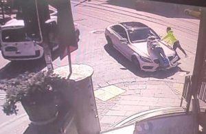 Lüks araçlarıyla iki kişiye çarpıp kaçtılar
