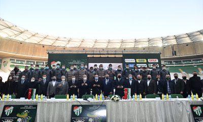 Bursaspor'dan destek kampanyası: Hatıran Yeter