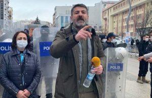 Van'da HDP binası ablukaya alındı: Milletvekiliyle röportaj yapmak isteyen gazeteciye polis engeli