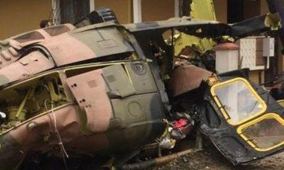 Bitlis'te helikopter düştü: 10 şehit 3 yaralı