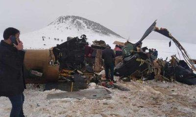 MSB'den Bitlis'teki helikopter kazasına ilişkin flaş açıklama