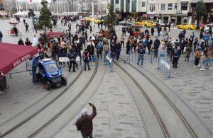 İstiklal Caddesi yine kapatıldı