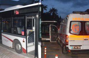 Belediye otobüsünde HES kodu göstermeyen yolcu dehşet saçtı