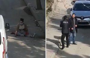 Boşandığı erkeğin bıçaklı saldırısına uğrayan kadın ağır yaralandı
