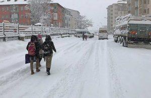 Meteoroloji'den 'kar yağışı' uyarısı