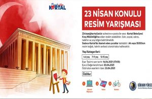 Kartal Belediyesi'nden 23 Nisan'a Özel Ödüllü Resim ve Şiir Yarışması
