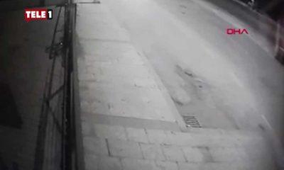 26 yaşındaki kuryenin minibüsün altında sürüklendiği anlar ortaya çıktı
