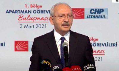 """Kılıçdaroğlu'ndan """"İnsan Hakları Eylem Planı"""" açıklaması"""