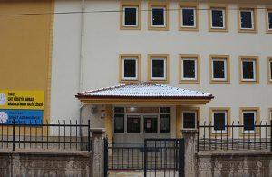 Tokat'ta bir okul 1 hafta direnebildi
