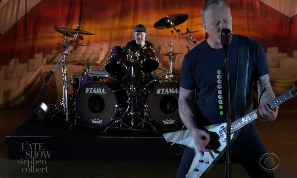 Metallica'dan efsane albümün 35. yılına özel performans