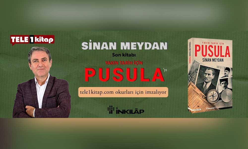 TELE1 imza kampanyası sürüyor… Sinan Meydan okurların kitaplarını isme özel imzalıyor