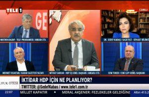 Mithat Sancar: İktidar bütün devlet imkanlarıyla…