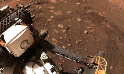 Persevarence, Mars'ta ilk test sürüşünü yaptı