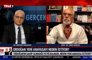 Emre Kongar: Erdoğan, Yeni Anayasa ile Cumhuriyet'in temellerini hedefliyor