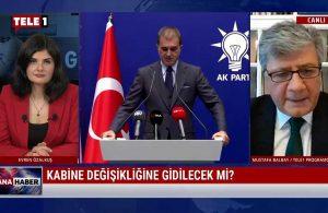 Mustafa Balbay: Kabine değişikliği Bahçeli ile konuşuluyor – ANA HABER