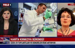 Özen: Kolay bulaşan İngiltere mutantı Türkiye'de yaygın hale geldi – ANA HABER