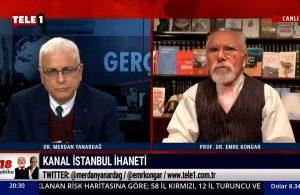 Emre Kongar: Kanal İstanbul, Montrö'yü tartışmaya açıyor