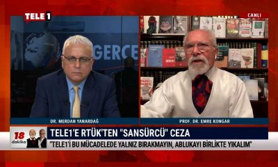 """TELE1'e RTÜK'ten """"sansürcü"""" ceza – 18 DAKİKA"""