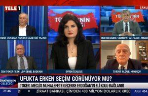 Turgut Kazan: Erdoğan erken seçim diyecek – TÜRKİYE'NİN GELECEĞİ