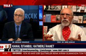 Emre Kongar: Kanal İstanbul için Bakan'ın söyledikleri doğru değil