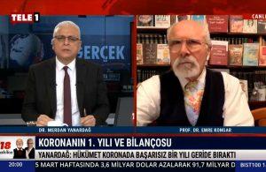 Merdan Yanardağ: AKP iktidarı koronavirüsün yükünü sağlık çalışanlarına yıktı