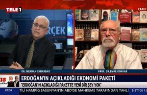 Merdan Yanardağ: Erdoğan'ın açıkladığı pakette yeni bir şey yok