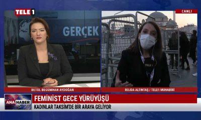 Kadınlar Taksim'de bir araya geliyor – ANA HABER