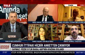 İsmail Saymaz: Yüzde 51'lik baraj AKP'nin ayağına dolandı – ANINDA MANŞET
