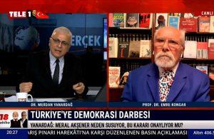 Merdan Yanardağ: Akşener, MHP'nin 'HDP'yi savundunuz' propagandasından korkuyor
