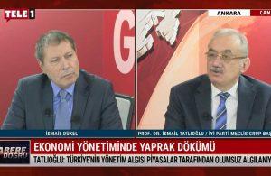 İsmail Tatlıoğlu: Türkiye'nin yönetim algısı piyasada olumsuz etki yaratıyor – HABERE DOĞRU
