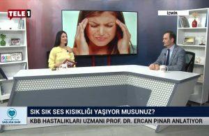 KBB Hastalıkları Uzmanı Prof. Dr. Ercan Pınar anlatıyor – SAĞLIĞA DAİR