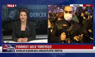 Kadınlar Taksim'de bir araya geldi – ANA HABER