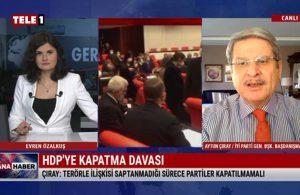 İYİ Partili Aytun Çıray: Hukuk ihlal edilerek milletvekilliğin sonlandırılmasını kabul etmiyoruz