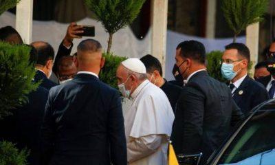 Papa, Sistani ile bir araya geldi