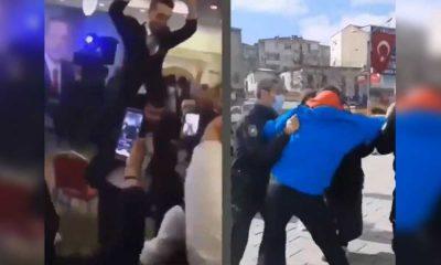 Kongrede ve sokakta AKP'nin çifte standardı…