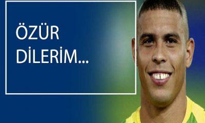 Brezilya efsanesi Ronaldo'dan, 2002 Dünya Kupası itirafı