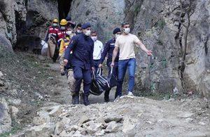 Cehennem Deresi Kanyonu'nda ceset bulundu