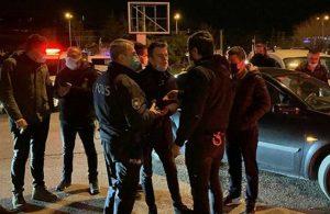 Kırmızı rekortmeni Samsun'da yasağa rağmen asker uğurlandı
