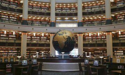 Cumhurbaşkanlığı kütüphanesinde Fethullah Gülen kitapları