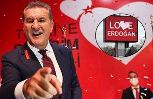 Sarıgül'ün partisinden 'love Erdoğan' çıkışı: Logomuz kopyalandı