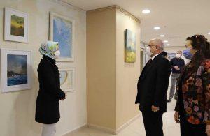 """""""Bahara Merhaba"""" resim sergisi Kartal Belediyesi'nde açıldı"""