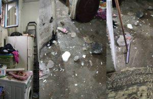 Gaziantep'te yaşayan mülteci ailenin evine taşlı saldırı!