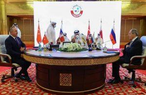 Türkiye, Rusya ve Katar aynı masada