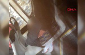 Otobüs tacizcisi hakkında yakalama kararı
