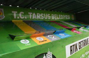 Tarsus Belediyesi, bölgenin ilk sıfır atık getirme merkezini şehre yerleştirdi