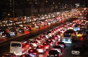 İstanbul'da trafik yoğunluğu yüzde 70'i aştı