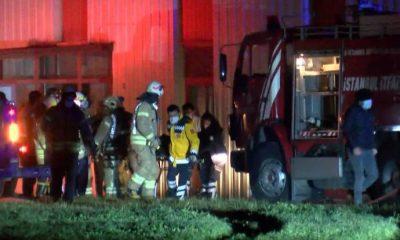 Tuzla'da bir fabrikada yangın: 2 işçi hayatını kaybetti