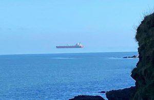 İngiltere'de 'uçan gemi' görüntülendi