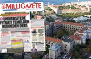 Milli Gazete buyurdu, soruşturma başlatıldı