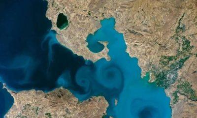 NASA yarışmasına Van Gölü fotoğrafı damga vurdu